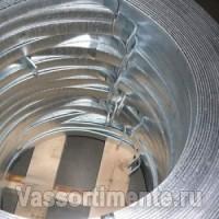 Полоса оцинкованная 25х4 мм в бухте ГОСТ 9.307-89